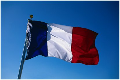 French Flag - Microsoft ClipArt