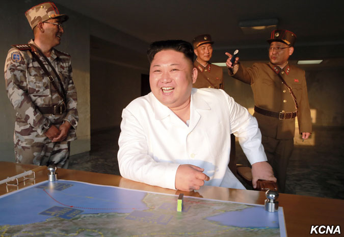 KCNA: Kim Jong Un Guides Test-fire of New Ground-to-Sea Cruise Rocket
