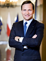 H.E. Radoslaw Sikorski - Polish Minister of Foreign Affairs