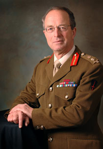 General Sir David Richards; Chief of Defence Staff. Source. MOD.