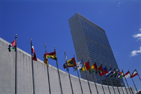 The United Nations' HQ